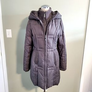 Vince Camuto Taupe Puffer Jacket Size S